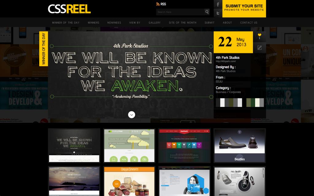 4th Park Studios on CSSReel.com